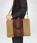 BOTTEGA VENETA New Bronze Aubergine Edoardo Intrecciato Club Fumé Briefcase Business bag U lp