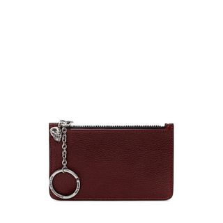 ALEXANDER MCQUEEN, Envelope, Small Grainy Calf Leather Key Holder