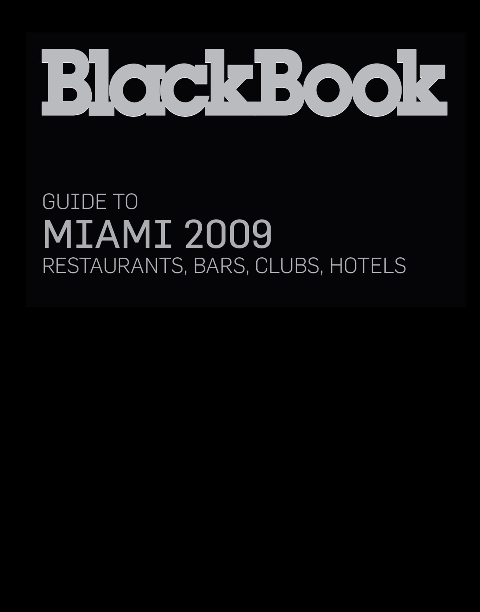 BLACKBOOK GUIDE LIFESTYLE  Item 56000500 1