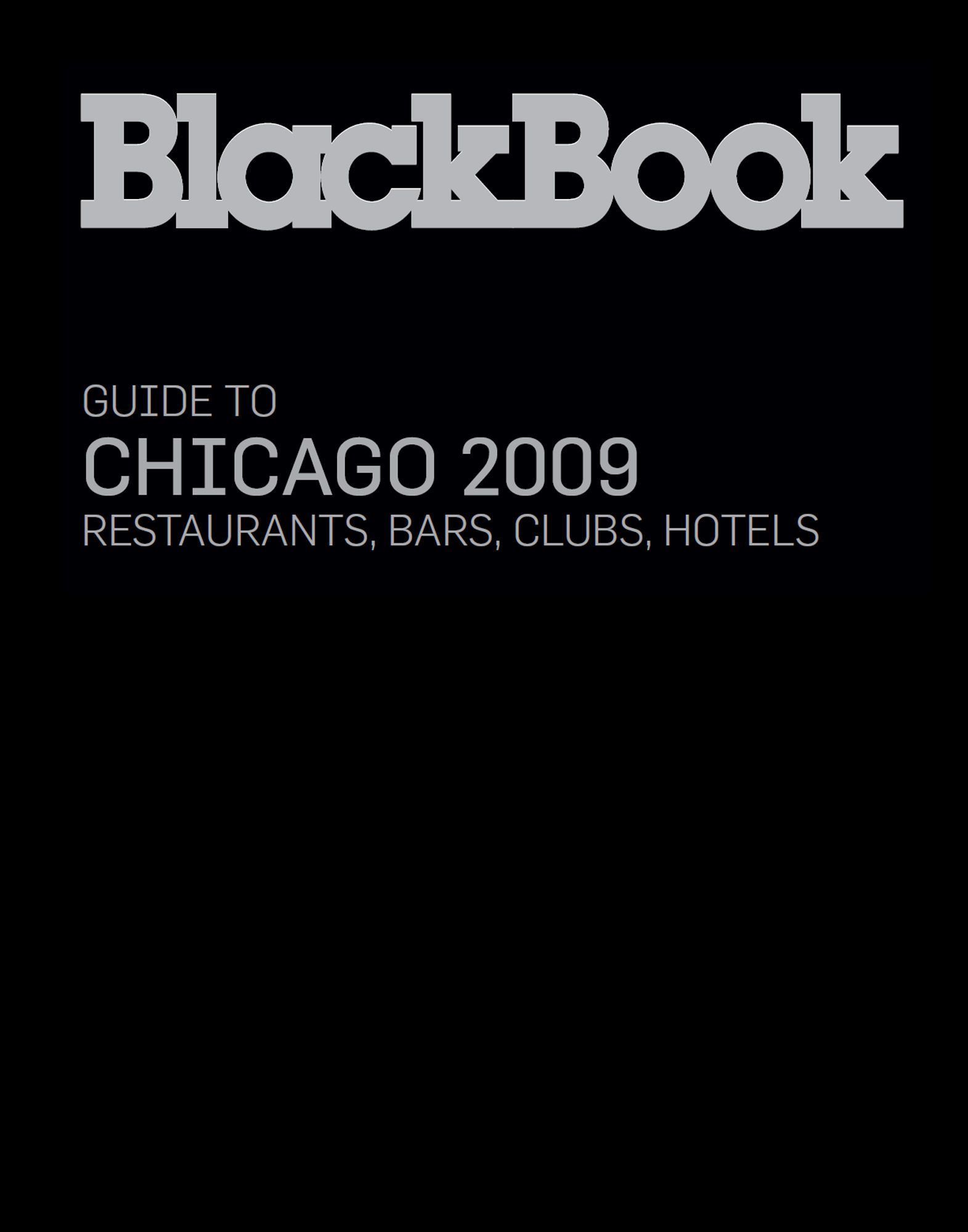 BLACKBOOK GUIDE LIFESTYLE  Item 56000501 1