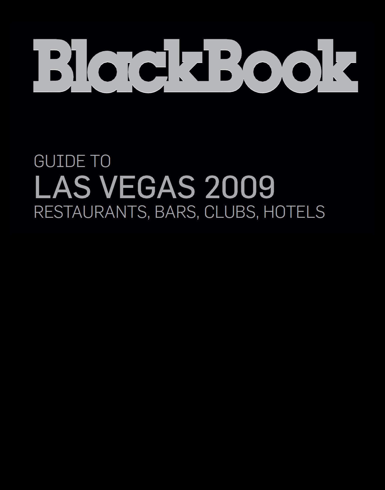 BLACKBOOK GUIDE LIFESTYLE  Item 56000502 1