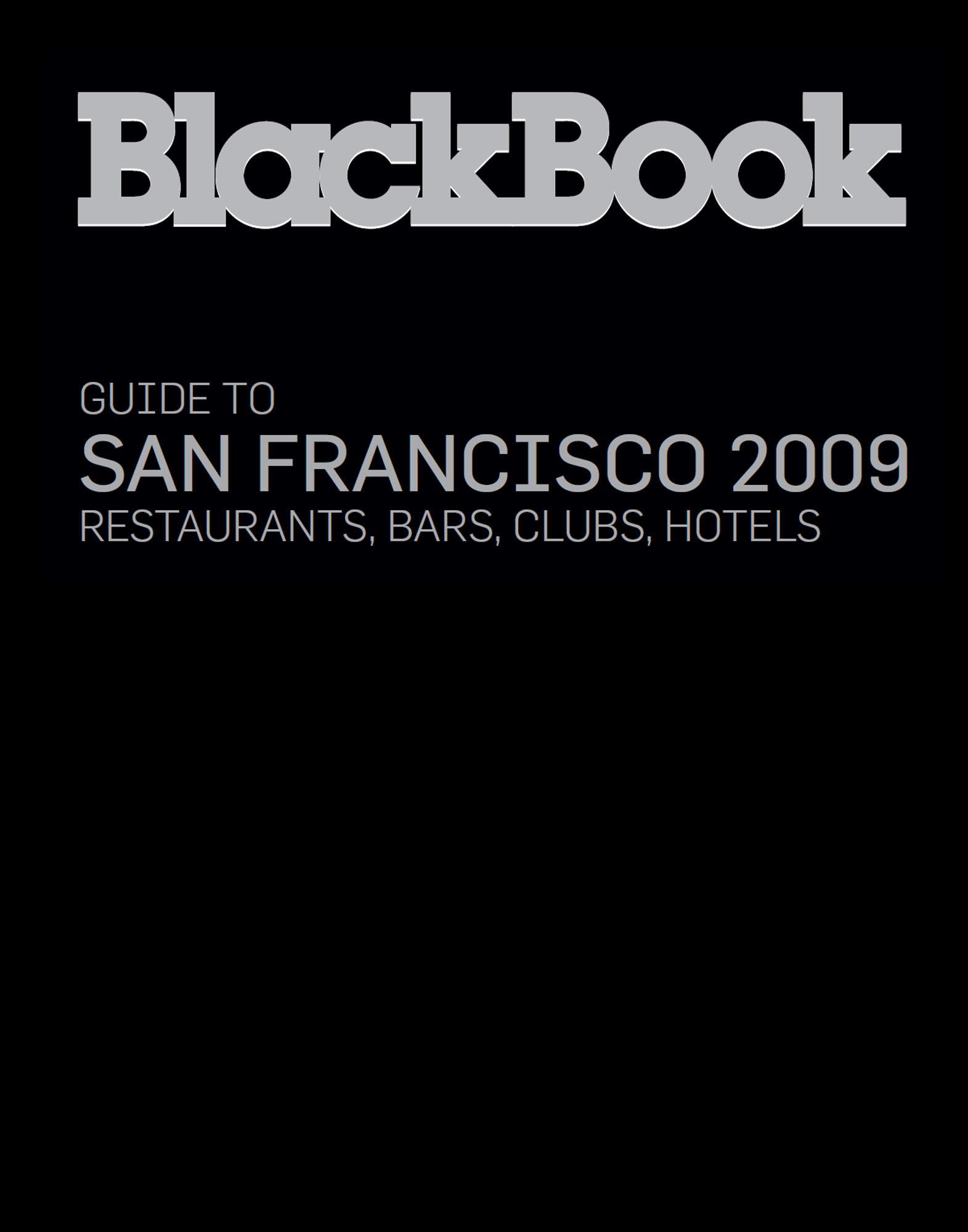 BLACKBOOK GUIDE LIFESTYLE  Item 56000503 1