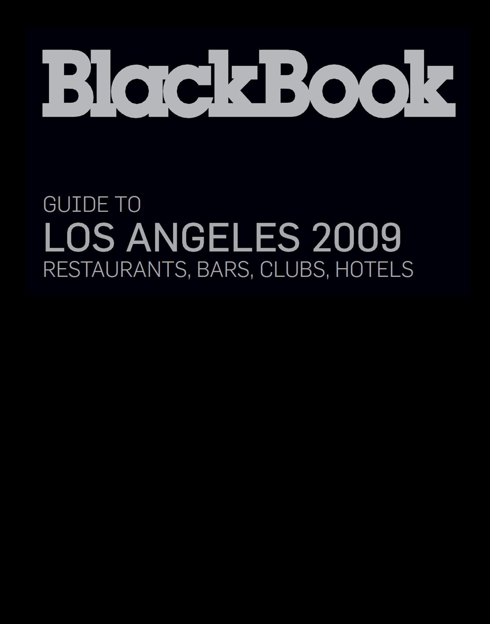 BLACKBOOK GUIDE LIFESTYLE  Item 56000505 1