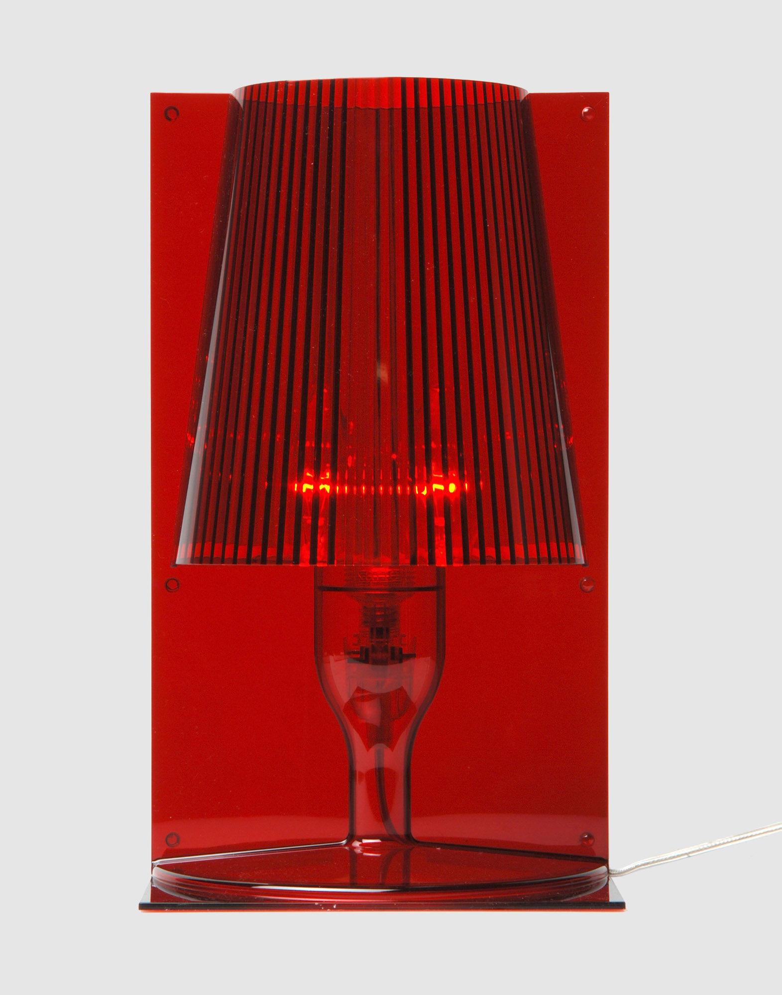 KARTELL Unisex Tischleuchte Farbe Rot Größe 1