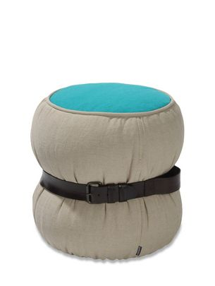 Furniture  LIFESTYLE: CHUBBY CHIC POUF