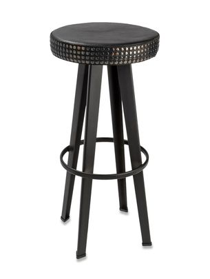 Meubles      LIFESTYLE: BAR STUD HIGH STOOL