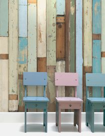 SCRAPWOOD WALLPAPER - Decoration