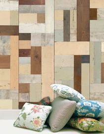 SCRAPWOOD WALLPAPER - Décoration
