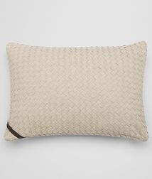 BOTTEGA VENETA - Living, Palladio Intrecciato Linen Rectangular Pillow