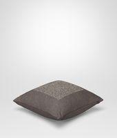 Cuscino Carbone Quadrato in Lino Intrecciato
