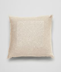 BOTTEGA VENETA - Living, Palladio Intrecciato Linen Square Pillow