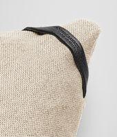 Palladio Intrecciato Linen Square Pillow
