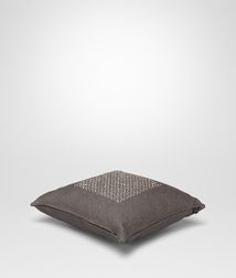 BOTTEGA VENETA - Living, Carbone Linen Pillow