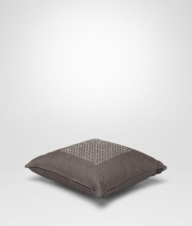 BOTTEGA VENETA Carbone Linen Pillow Pillow and blanket E fp