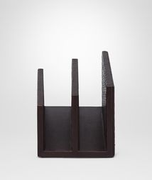 BOTTEGA VENETA - Living, Ebano Intrecciato Nappa Paper Holder