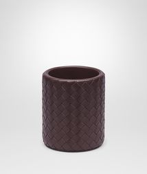 BOTTEGA VENETA - Living, Ebano Intrecciato Nappa Pencil Holder
