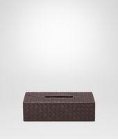 Ebano Intrecciato Nappa Horizontal Tissue Box