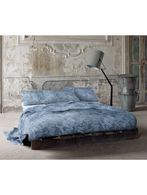 DENIM FLORA DUVET COVER SET 250x200