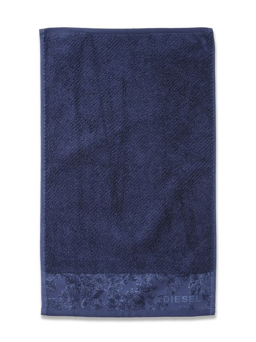 DENIM FLORA SOLID TOWEL 30X50