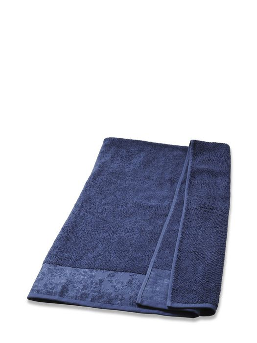 DENIM FLORA SOLID TOWEL 50X100
