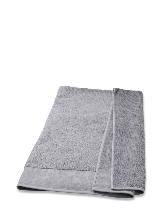 DENIM FLORA SOLID TOWEL 100X150