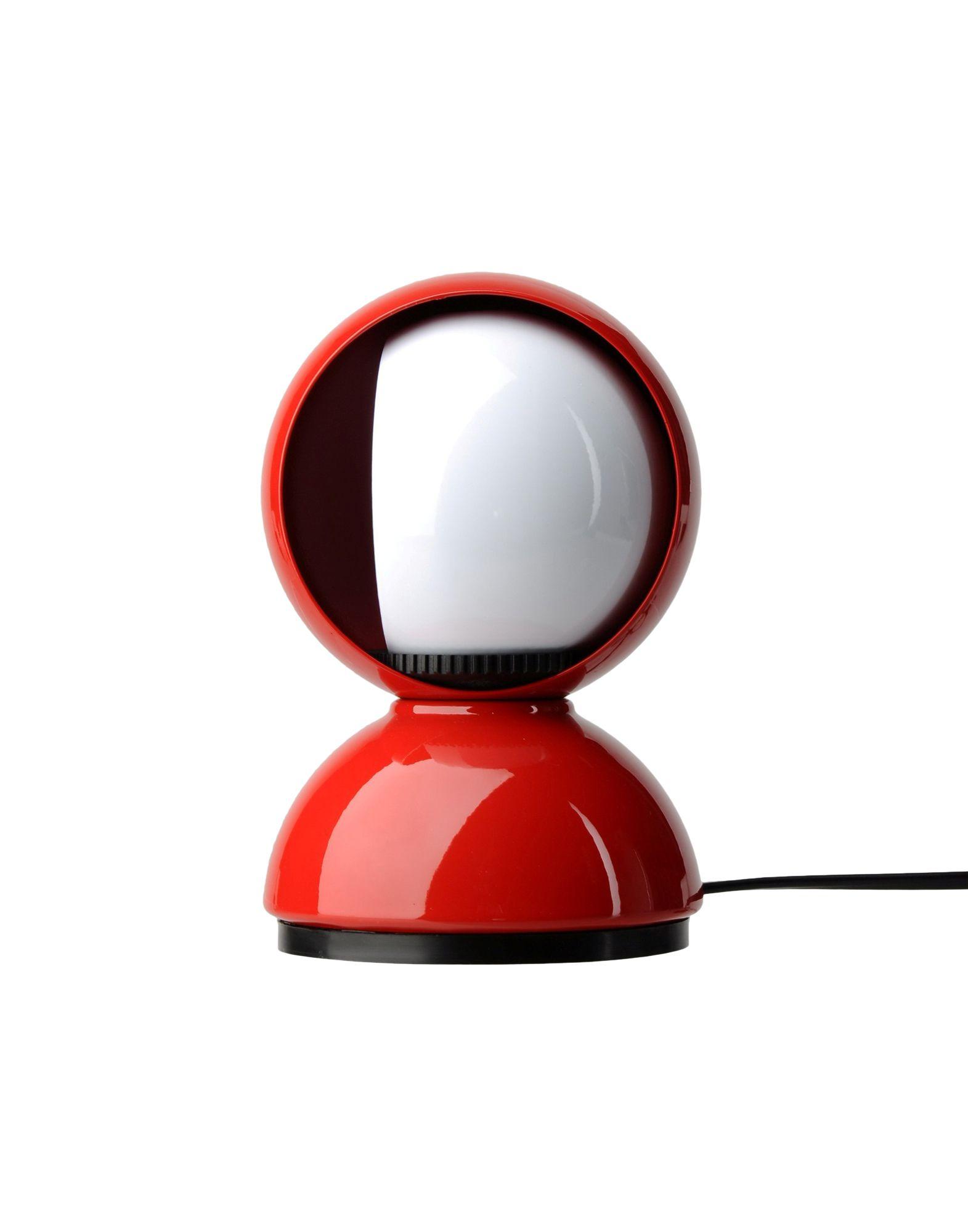 ARTEMIDE Unisex Tischleuchte Farbe Rot Größe 1