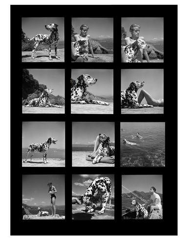MAGNUM PHOTOS Portofino, 1936, Contact Sheet Print Photography prints and posters mixte