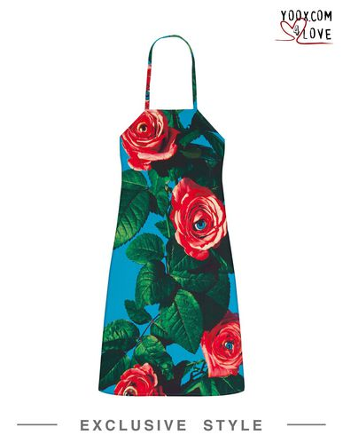 Image of SELETTI WEARS TOILETPAPER TEXTILE Kitchen aprons Unisex on YOOX.COM