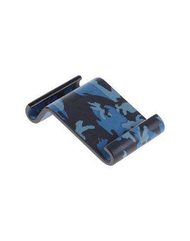 MAISON TAKUYA メンズ ハイテク機器アクセサリー ブルー 革