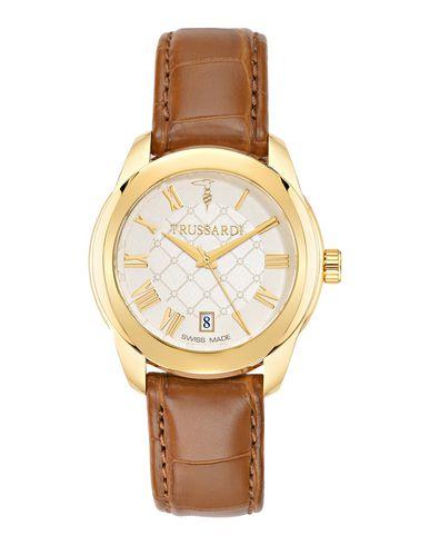 TRUSSARDI レディース 腕時計 ブラウン ステンレススチール