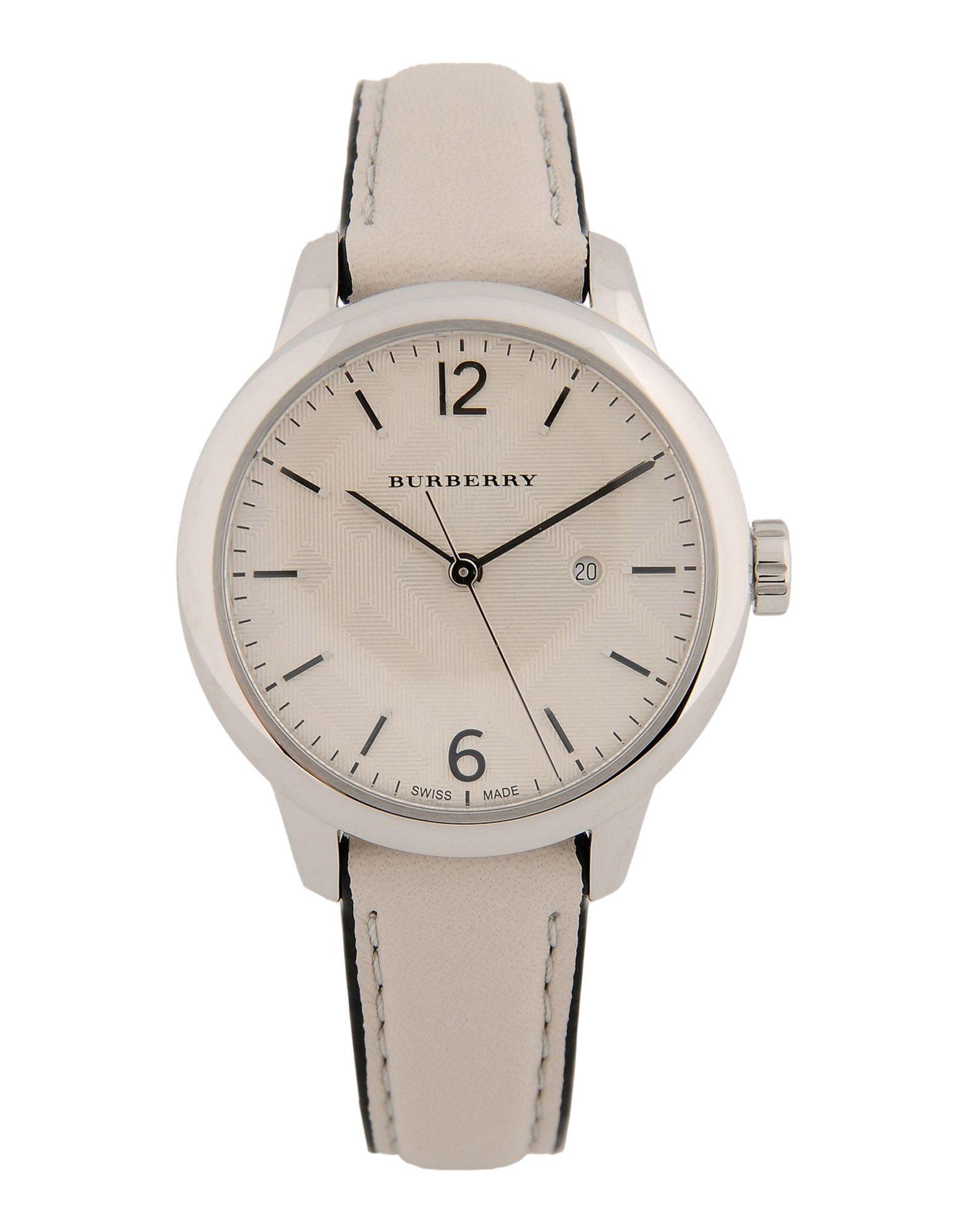 レディース BURBERRY 腕時計 ライトグレー