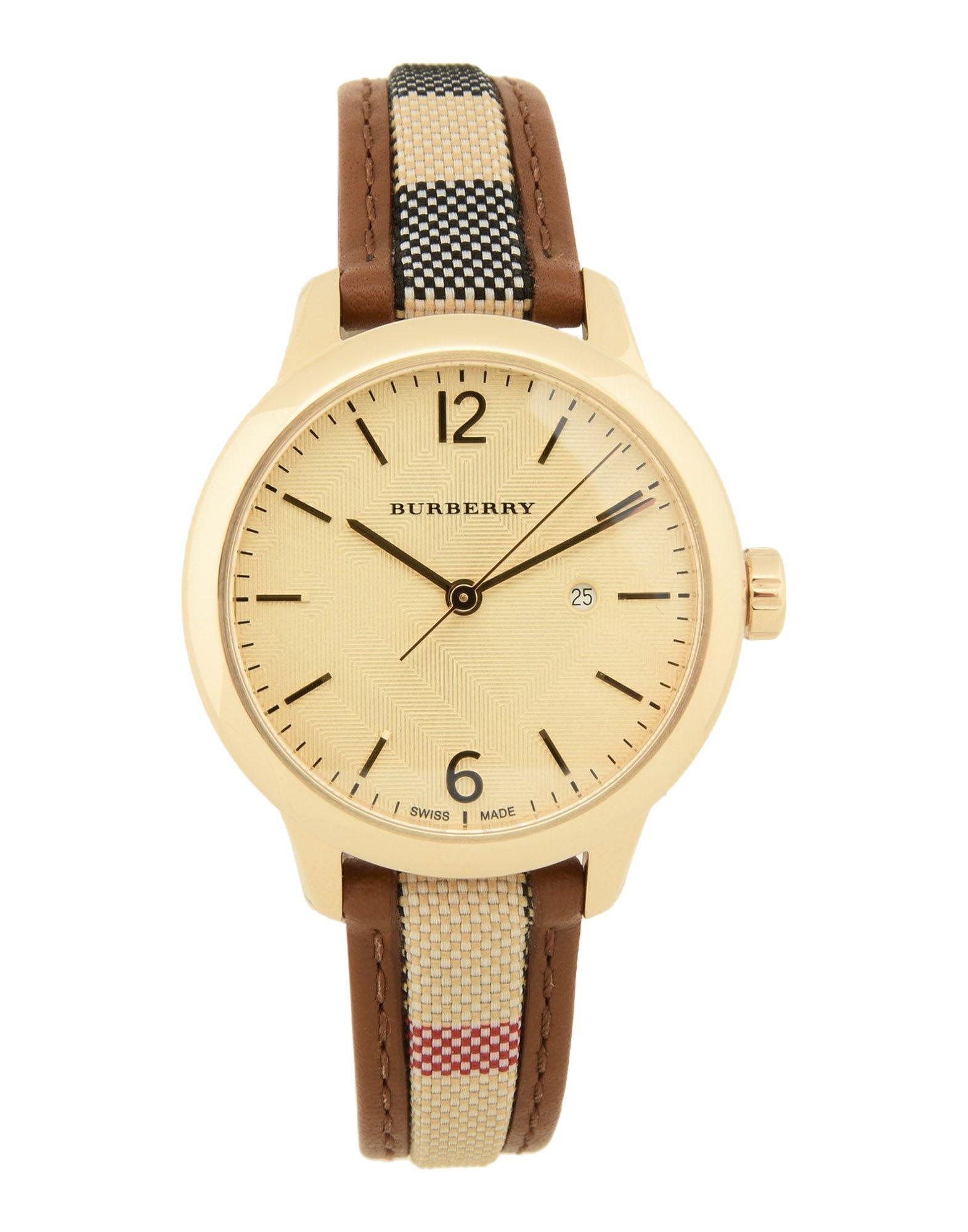 レディース BURBERRY 腕時計 ゴールド
