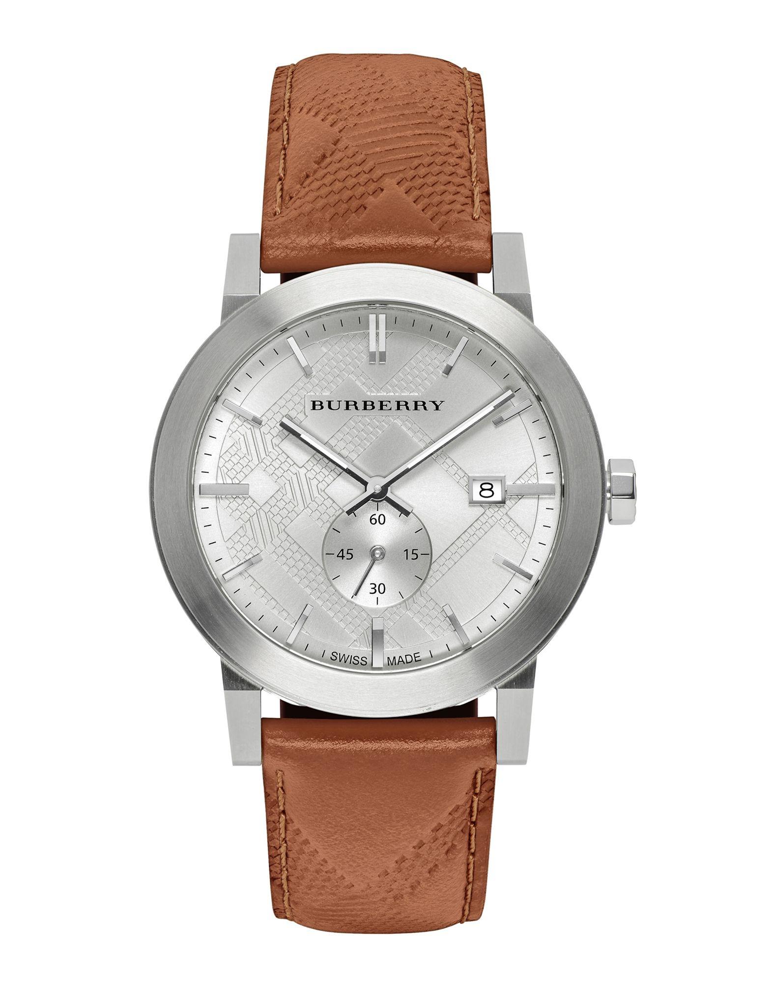 メンズ BURBERRY 腕時計 ホワイト
