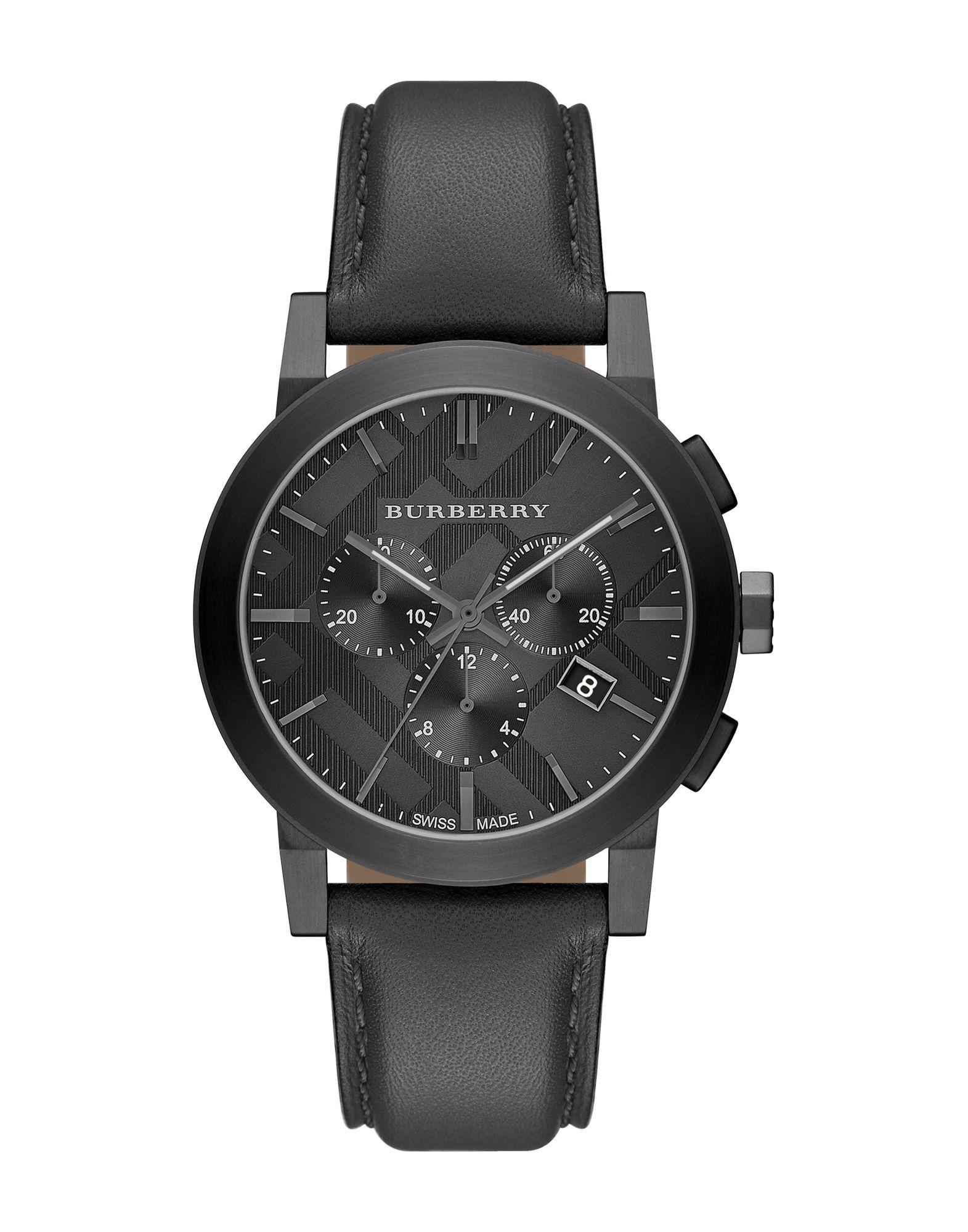 メンズ BURBERRY 腕時計 ダークブラウン