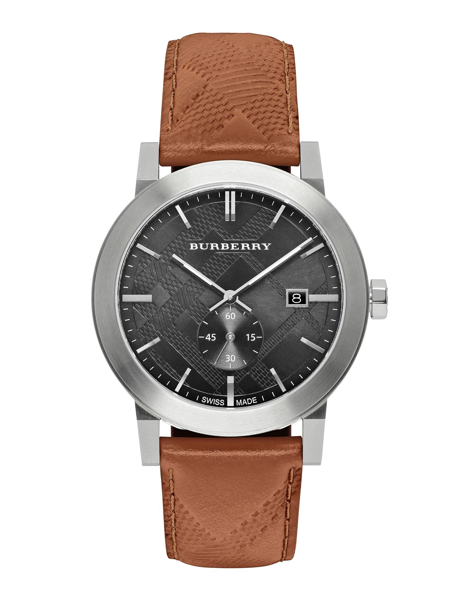 メンズ BURBERRY 腕時計 ブラウン