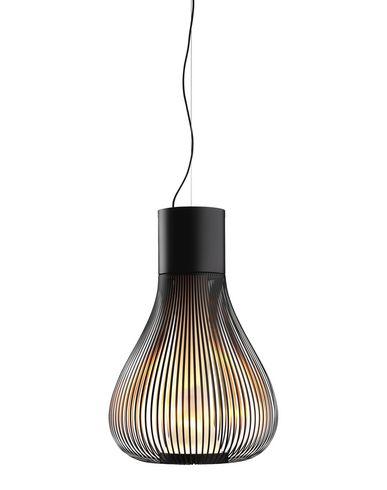Chiave 5-light chandelier in oiled bronze finish - chandelier