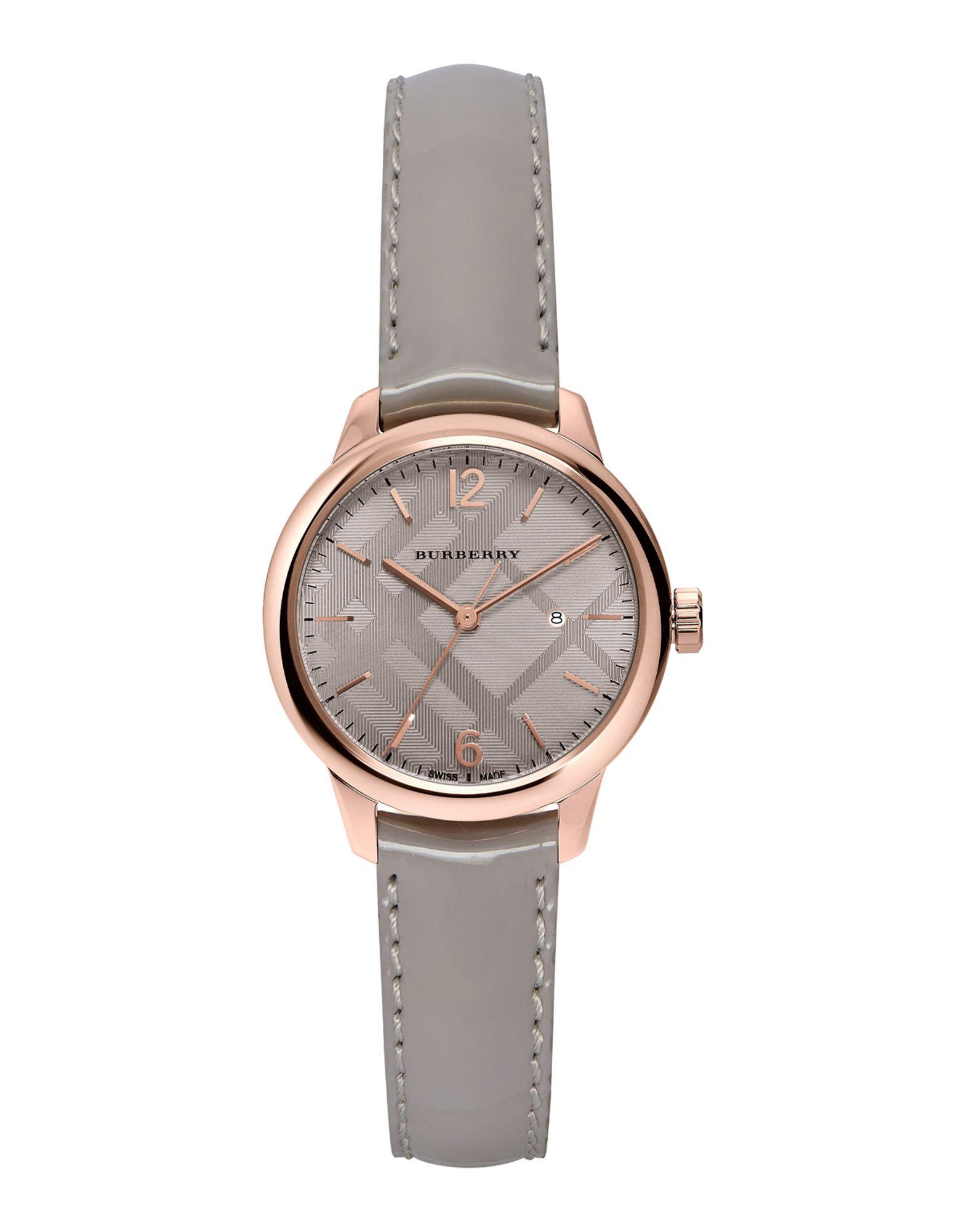 レディース BURBERRY 腕時計 グレー