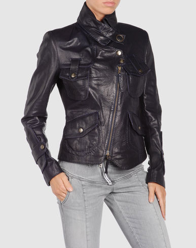 JUST CAVALLI Women - Leatherwear - Leather outwear JUST CAVALLI on YOOX from yoox.com