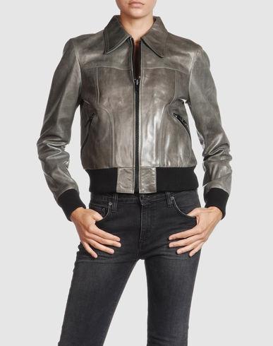 MISTERAZ Women - Leatherwear - Leather outerwear MISTERAZ on YOOX