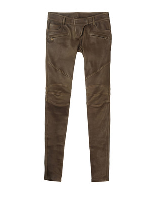 Leather pants Women's - BALMAIN