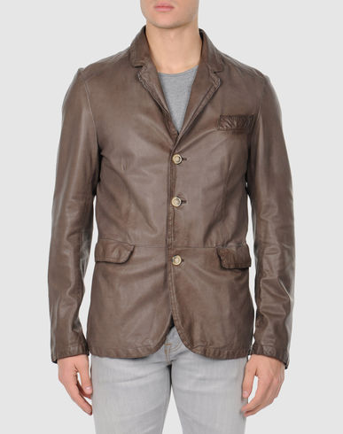 DELAN - Leather outerwear