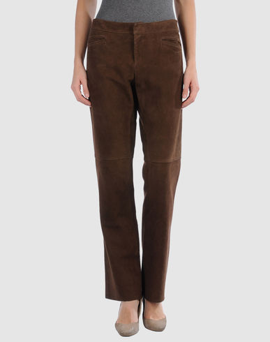 RALPH LAUREN - Leather pants