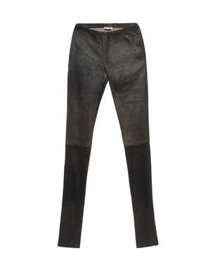 Leather trousers Women's - ANN DEMEULEMEESTER