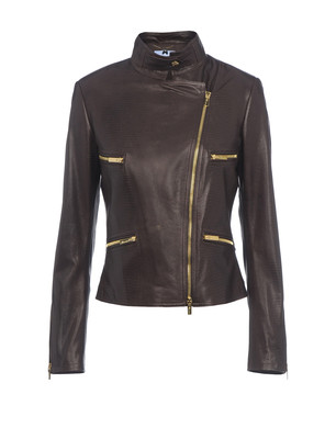 Leather outerwear Women's - BLUMARINE