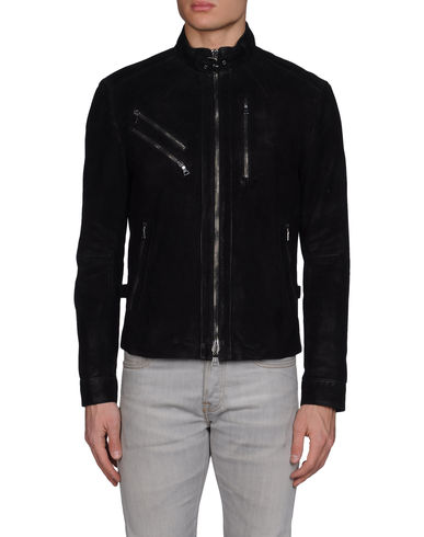 JOHN VARVATOS - Leather outerwear
