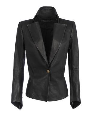 Leather outerwear Women's - BALMAIN