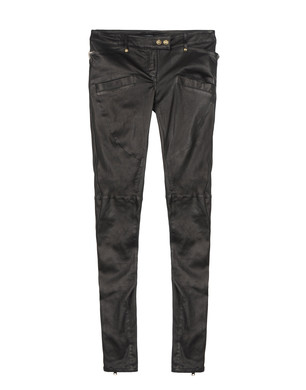 Leather trousers Women's - BALMAIN