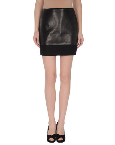 JIL SANDER NAVY - Leather skirt