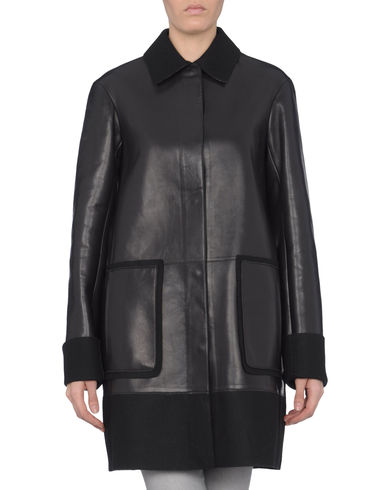 JIL SANDER NAVY - Leather outerwear