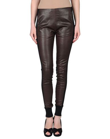 BALENCIAGA - Leather pants